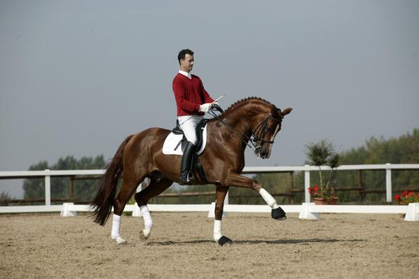 Royal Olymp her mens han fortsatt stod i Tyskland. (Foto: Privat).