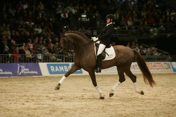 Skovens Rafael gikk av med seieren i denne gangartsklassen for 4,5 og 6 år gamle hester.