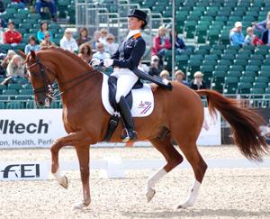 Adelinde Cornelissen og Parzival var helt i en klasse for seg i Windsor i dag.