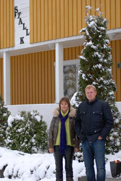 Esben og hans kone Susanne.