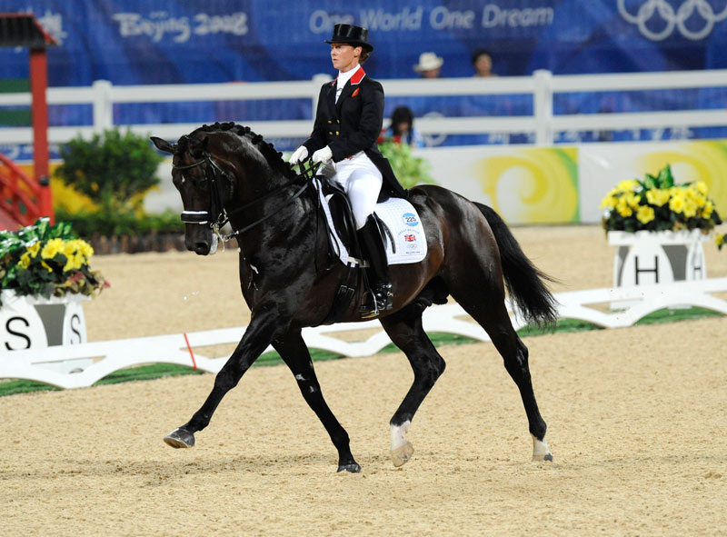 Emma Hindle og Lancet under OL i Hong Kong (foto: FEI/Kit Houghton).
