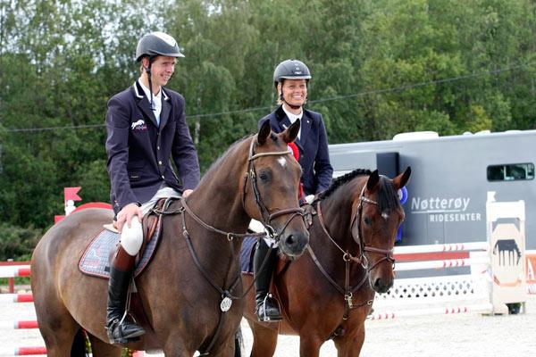 Jan Auen Hafskjold og Anita Sande ble nummer 2 og 3 sammenlagt.