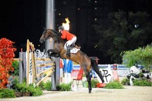 Beezie Madden red inn til sølv i OL i Hong Kong (foto: FEI/Kit Houghton).