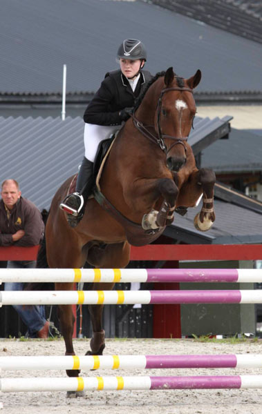 Annika Hedmann og Tobajo Pin Code ble beste norskfødte på en 2. plass.